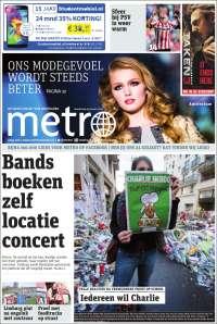 Portada de Metro (Países Bajos)