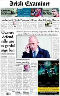 Portada de Irish Examiner (Ireland)