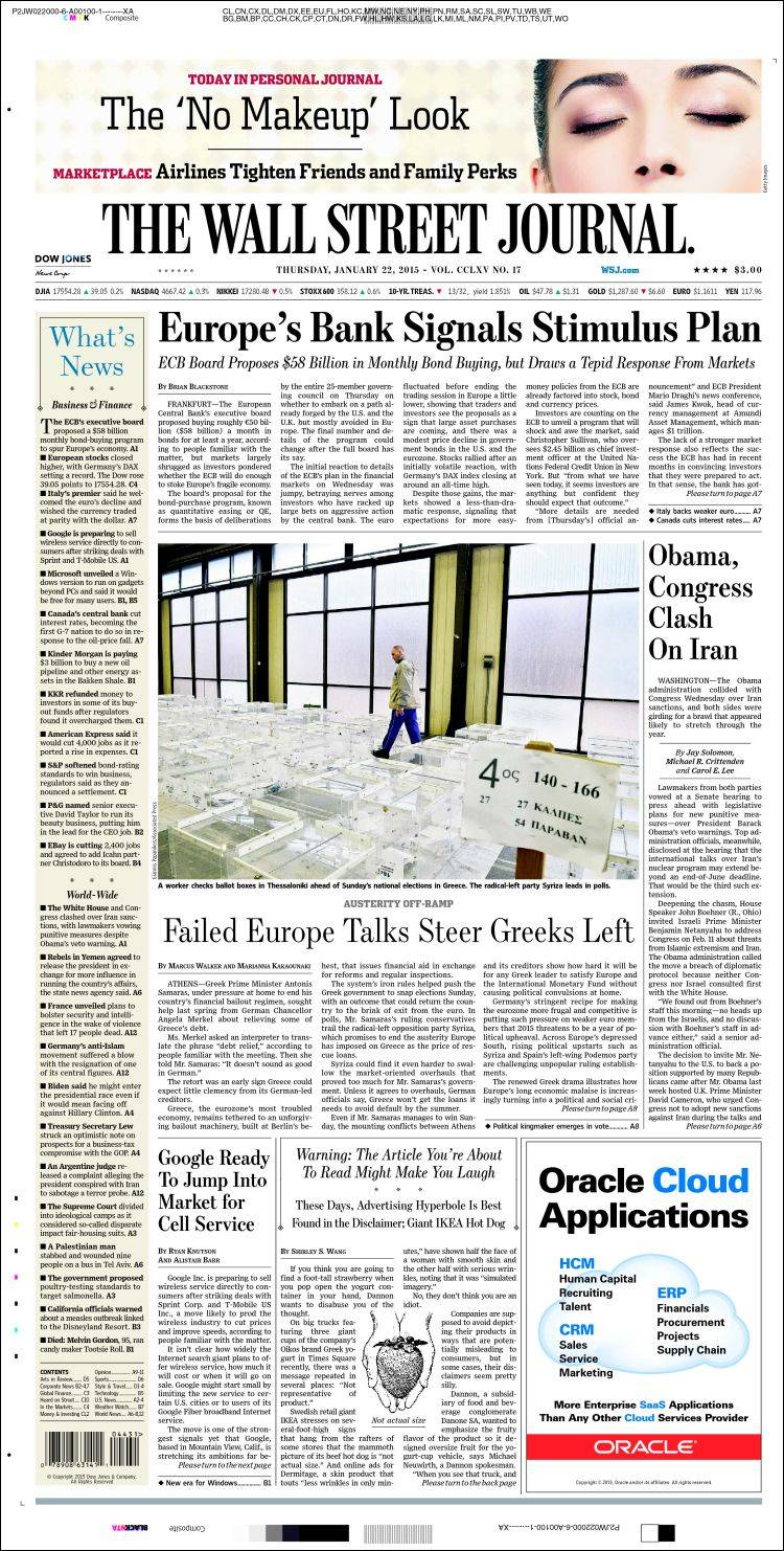 usa today and wall street journal The wall street journal (2,276,207) the new york times (2,134,150) aam is discontinuing the print report in favor of more detailed, more frequent reports on individual titles.