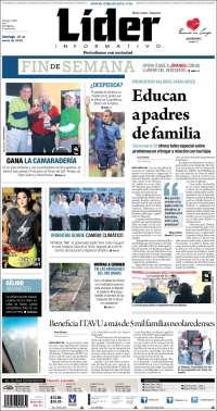 Portada de Lider Informativo (Mexico)