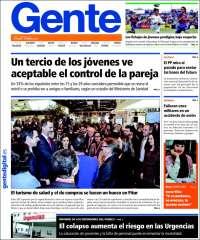 Portada de Gente en Palencia (Spain)