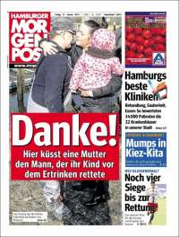 Portada de Hamburger Morgenpost  (Germany)