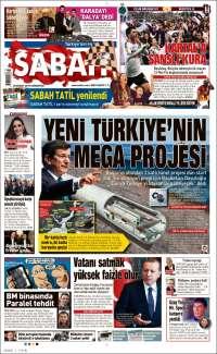 Portada de Sabah (Turkey)