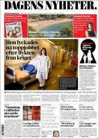 Portada de Dagens Nyheter (Sweden)