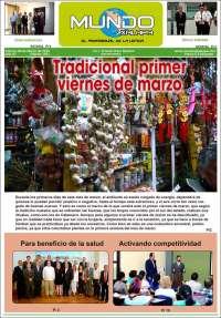 Portada de El Mundo de Xalapa (México)