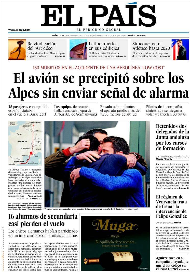 Periodicos En Linea: El Pais (Espana).