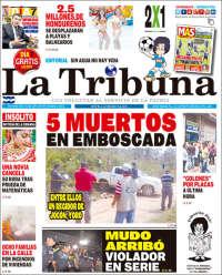 Portada de La Tribuna (Honduras)