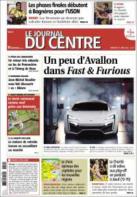Portada de Le Journal du Centre (France)