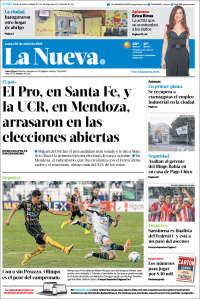 Portada de La Nueva Provincia (Argentina)