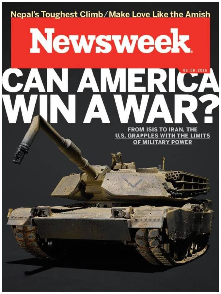 Portada de Newsweek (USA)