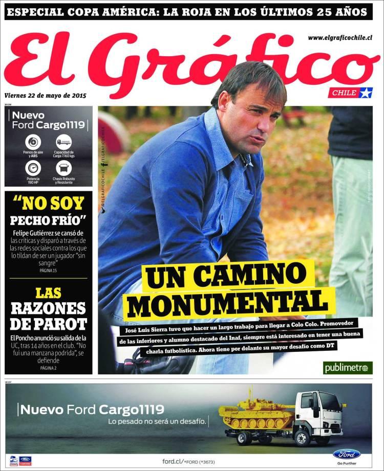 Portada de El Gráfico (Chile)