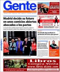 Portada de Gente en Madrid (Spain)