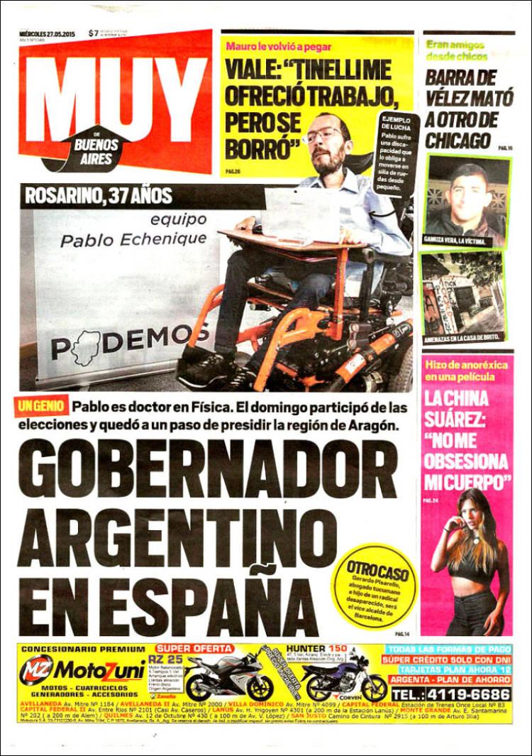 Portada de Muy (Argentina)