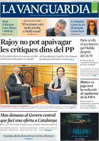 Portada de La Vanguardia - Català (Spain)