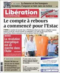 Portada de Libération Champagne (France)