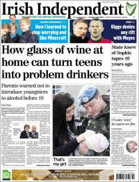Portada de Irish Independent (Ireland)