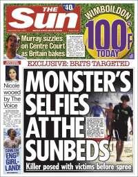 Portada de The Sun (Reino Unido)