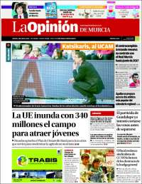 Portada de La Opinión de Murcia (Spain)