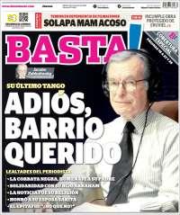 Portada de Diario Basta (México)