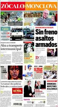 Portada de Zócalo - Monclova (México)