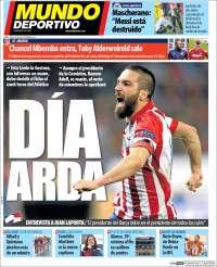 Portada de Mundo Atlético (Spain)