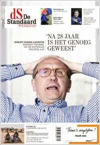 Portada de De Standaard (Belgium)