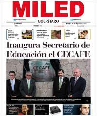 Portada de Miled - Queretaro (México)