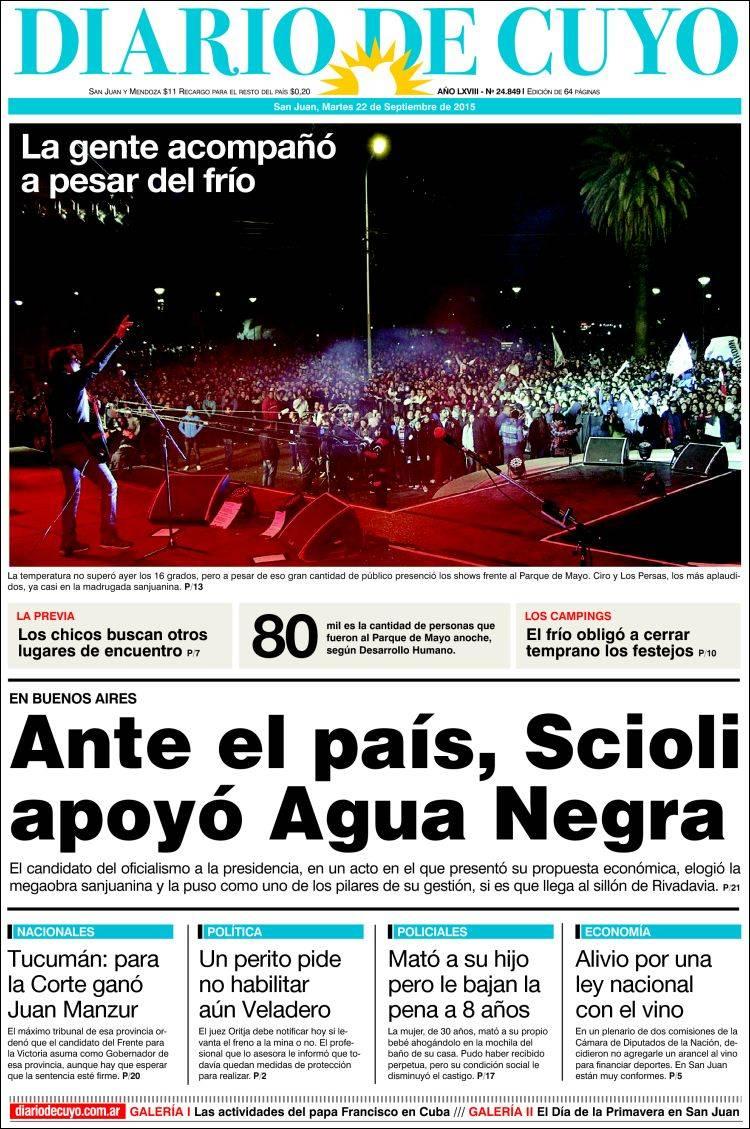 diario de cuyo com ar: