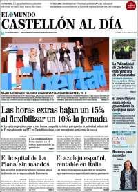 Portada de Castellón Al Día (España)