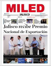 Portada de Miled - Jalisco (México)
