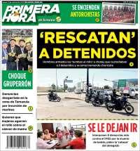 Portada de Primera Hora de Sinaloa (México)