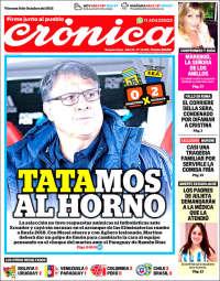 Portada de Crónica (Argentina)