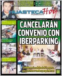 Portada de Huasteca Hoy (México)