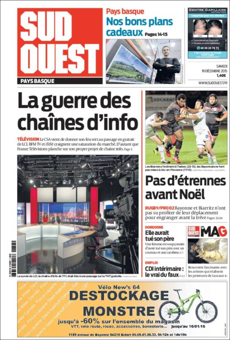 journal sud ouest rencontres