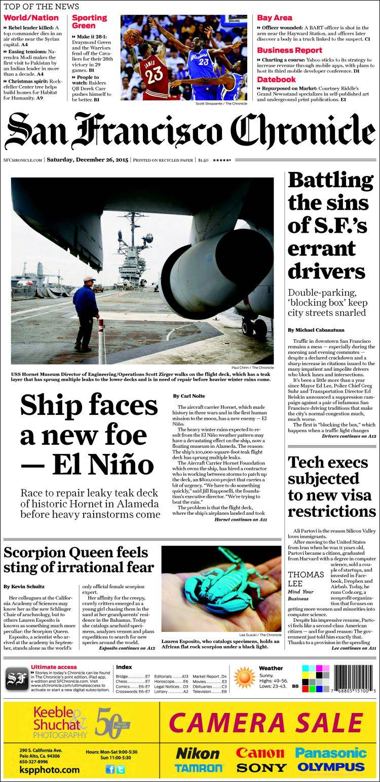 Dec 06,  · SFGATE: Local news & information, updated weather, traffic, entertainment, celebrity news, sports scores and more.